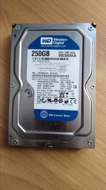 диски опель зафира в Азербайджан: 250 gb HDD hard disk/жёсткий диск