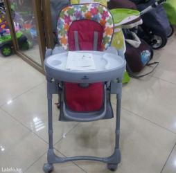 Детский стульчик для кормления САТУРН. Покупали за 7500, не пользовали в Лебединовка