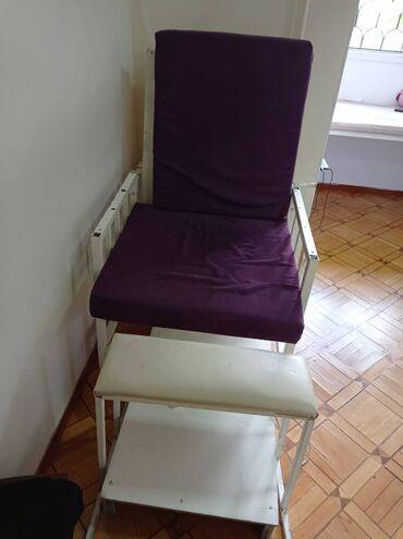 Услуги - Маевка: Срочно продается педикюрное кресло, есть ещё раковина круглая