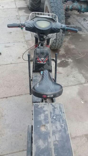 Мотоциклы и мопеды - Кемин: Продаю электричиский хватит 70 кл нахаду сел и поехал
