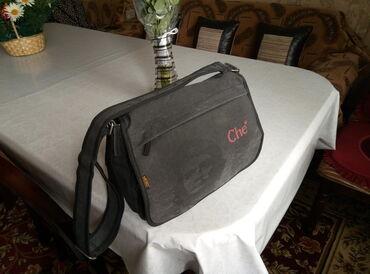 Продаю спортивную сумку . материал - холст. цвет -темно серый