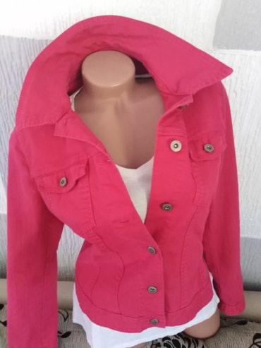 S' Oliver roze texas jaknica, nova ne koriscena. Hit i uvek u trendu.. - Smederevo