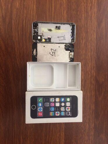 IPhone 5s | 16 GB | Boz (Space Gray) | Ehtiyat hissələri kimi