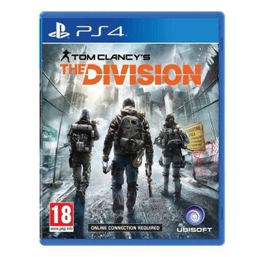 Bakı şəhərində Ps4 Tom Clancys the division oyun diski satılır Yenidir bağlı