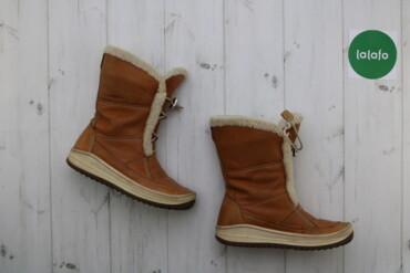 Женская обувь - Украина: Жіночі зимові чоботи Ecco, р. 37   Довжина підошви: 26 см  Стан: гарни