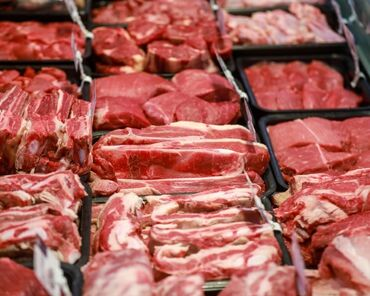 Зоотовары - Кыргызстан: Продаю мясо с доставкой по городу свыше 5 кг мясо свежее есть говядина