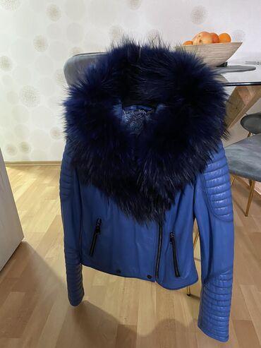 Kozna jakna sa krznom - Srbija: Kozna jakna sa prirodnim krznom