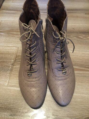Продам ботиночки дэми, размер 37, немного большемерят, состояние отлич