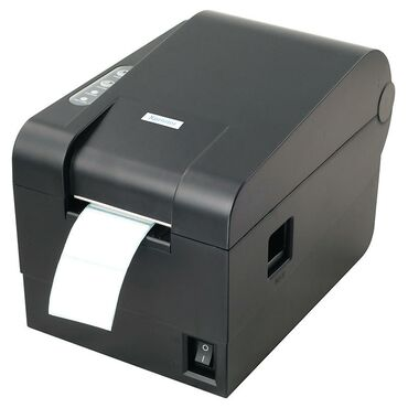 туалетная бумага бишкек в Кыргызстан: Термопринтер для этикеток Xprinter 235B USB ширина 58мм. Гарантия 3