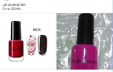 Personalni proizvodi | Zajecar: Lak za pecat 6ml  Roze.  Nekorisceno