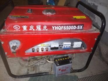 Генераторы - Кыргызстан: Генератор бензиновый,4.5 кВт.,3 фазы,пр-во Китай( завод),за пол