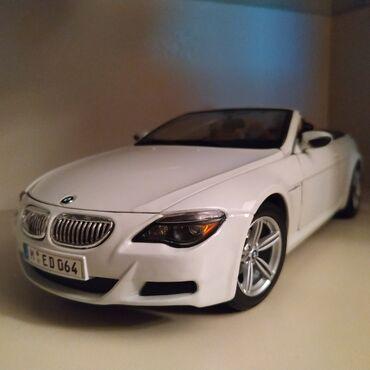Avtomobil modelləri - Azərbaycan: BMW M6 (Cabrio) (Maisto) (1:18)