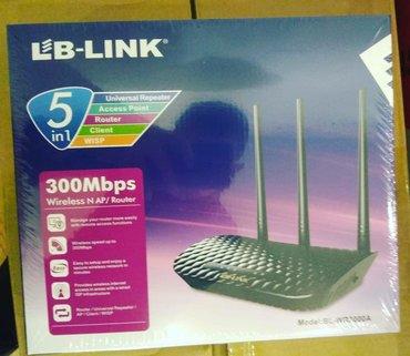 Lb-Link Router +akses point 40aznişləməyinə 3ay zəmanət