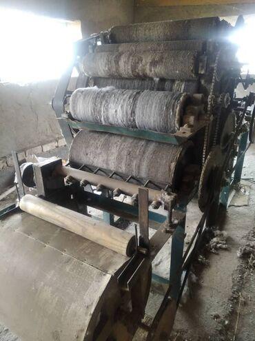 станок для сетка рабица в бишкеке в Кыргызстан: Продается чесальный станок б/у