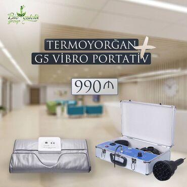 Termo yorgan + G5 (Vibro massaj ) aparati   Termoodyal Termoodyal elek