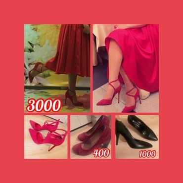 Продаю туфельки 🥰 красные, замшевые в Бишкек