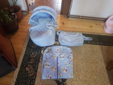 Lutka za butik - Srbija: Nosiljka+ torba+ vreca za spavanje za bebe