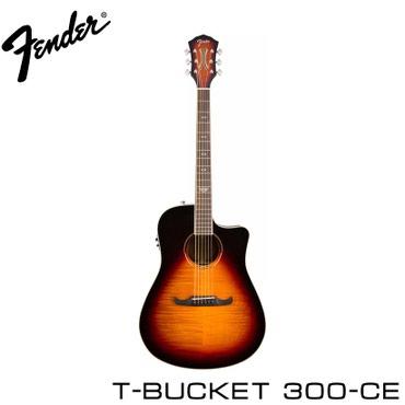 Гитара Электро-акустическая гитараFender T-Bucket 300CE Sunburst