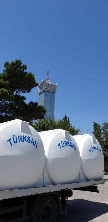 Digər santexnika - Azərbaycan: Su çənləri
