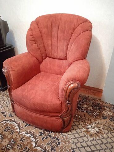 продам кресло кровать in Кыргызстан | ДИВАНЫ: Продаётся кресло 2 штдиван кровать зеркало 2шт