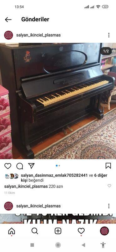 41 elan | İDMAN VƏ HOBBI: Piano və fortepianolar