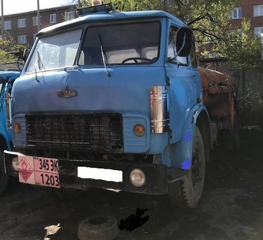 Продается МАЗ бензовоз 1980 г. в Бишкек