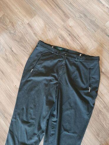 Zenske C & A pantalone. Vel 5XL/6XL. TAMNO SIVE