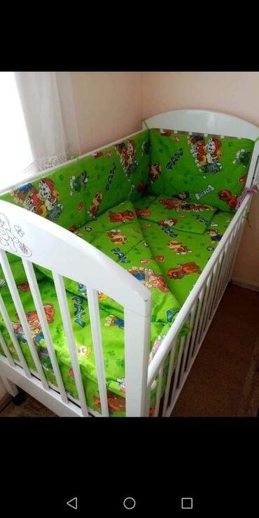 Ostalo   Bela Palanka: Ogradice za krevetac, sa pisteljinom1500 dinPosteljinica za krevetac