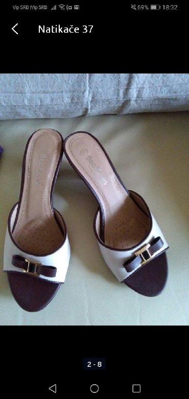 Ženska obuća | Sombor: Papuče 37 nove nikad nošene, kvalitetne