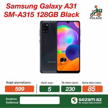 Samsung Galaxy A31NƏĞD və ucuz qiymətə satılırÇatdırılma və