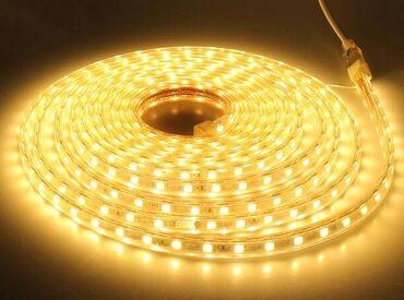 Светодиодная лента led 220v, герметичная!Цена указана за 1 метр
