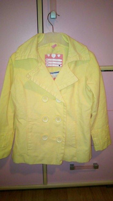 Dečije jakne i kaputi | Sabac: Presladak sako jaknica kako god nov je 128 7-8god