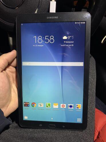 Tab - Azərbaycan: Samsung Galaxy Tab-E ideal vezyetdedir, cemi 1 hefte iwnen elageder is
