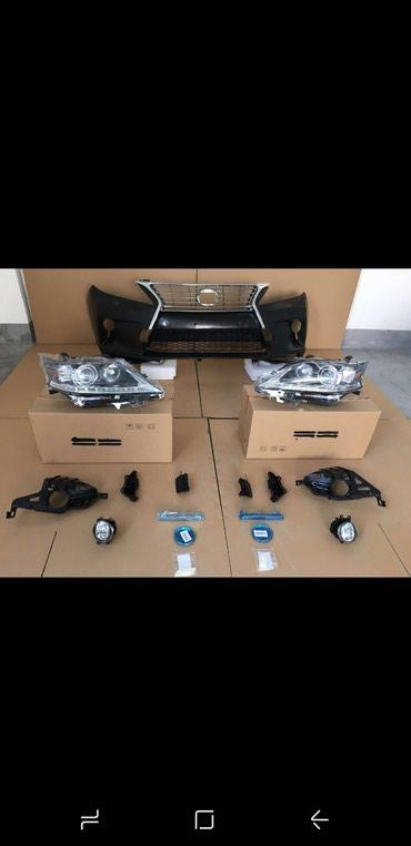 Бампер на Лексуз RX 350 с 5 комплект