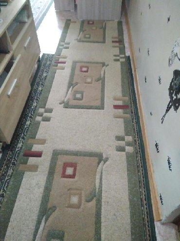 верблюжье одеяло текстиль в Кыргызстан: 2800с Дорожка размер 80 см *4.50 м длинный очень Зелёного цвета в