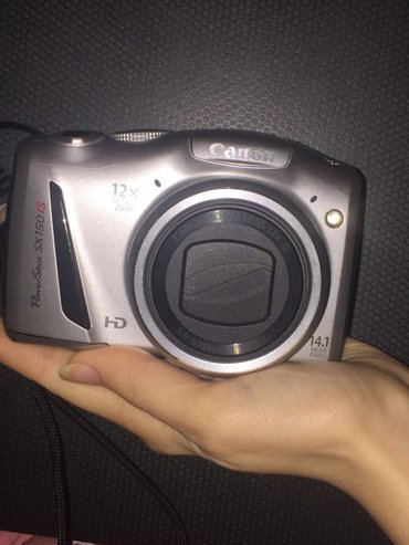 Bakı şəhərində Canon fotoaparat. Qabaq linzasi acilmir