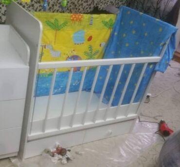 Продается детская кроватка с матрасом, в хорошем состоянии. Отличного