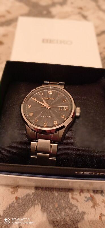 Личные вещи - Полтавка: Новые часы .Можно подарить на день рождения мужа.бренд seiko. Стекло