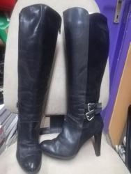 Ženska obuća | Smederevska Palanka: Antonela Rossi br. 36 kožna čizma. Štikla 10cmPlatforma 1cm. Visina