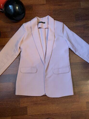 Пиджак розовый. Размер:42