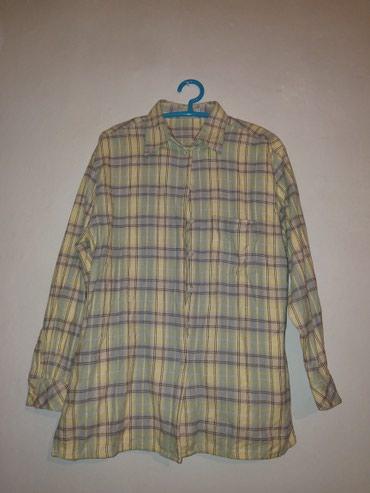 Продаю теплую женскую рубашку, в Бишкек