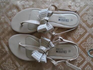 Preslatke nenošene Coloseum letnje sandalice, broj 39. Elegantne i za