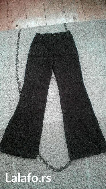 Braon pantalone,vel. 38 dublji model - Pancevo