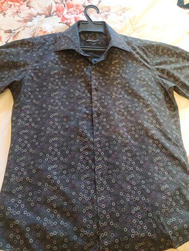 купить сенсорный диспенсер для жидкого мыла в Кыргызстан: Рубашка с коротким рукавом стильная, размер М