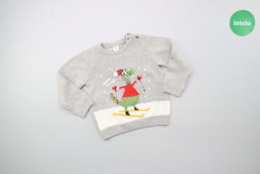 Дитячий светр з динозавром LC WAIKIKI, вік 12-18 міс   Довжина: 34 см