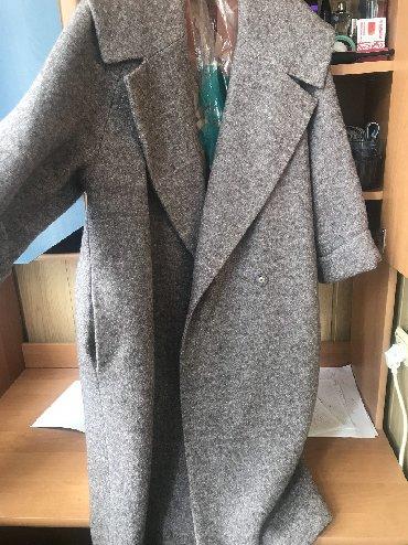 весен пальто в Кыргызстан: Пальто оверсайз весеннее. Новое. Размер 44, подойдёт на 50. На
