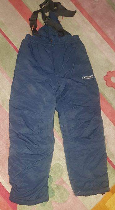 Ski pantalone sa tregerima. Teget boje, pise 16 god, po meni manje za - Belgrade