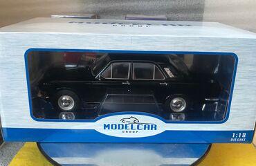 Коллекционная модельGAZ M24 VOLGA Black 1981Model Car GroupArt