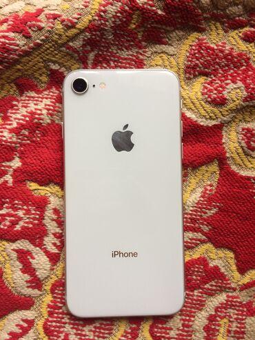наушники сяоми в Кыргызстан: IPhone 8 | 64 ГБ | Белый | Б/У | Отпечаток пальца