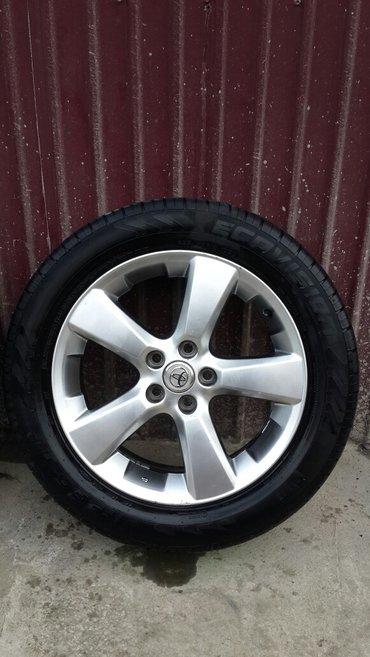 Продаю диски R18 на Lexus и шины в помплект (родные диски)В ОТЛИЧНОМ С в Ош